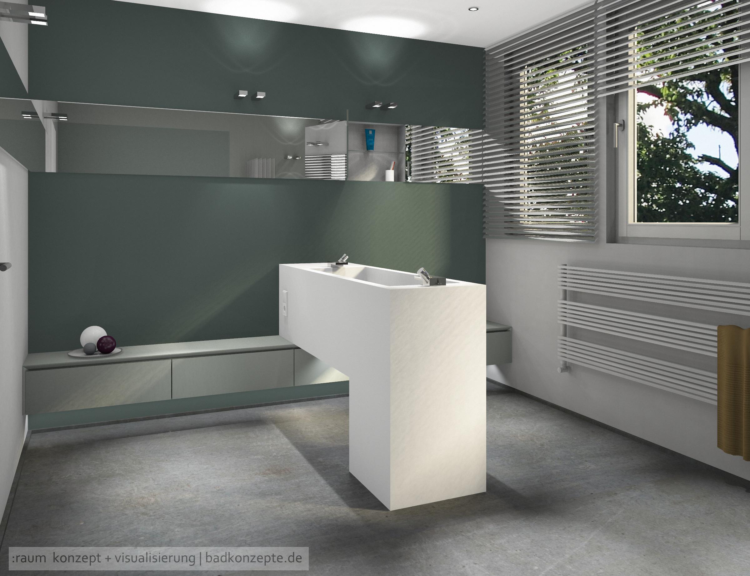 Waschplatz für zwei